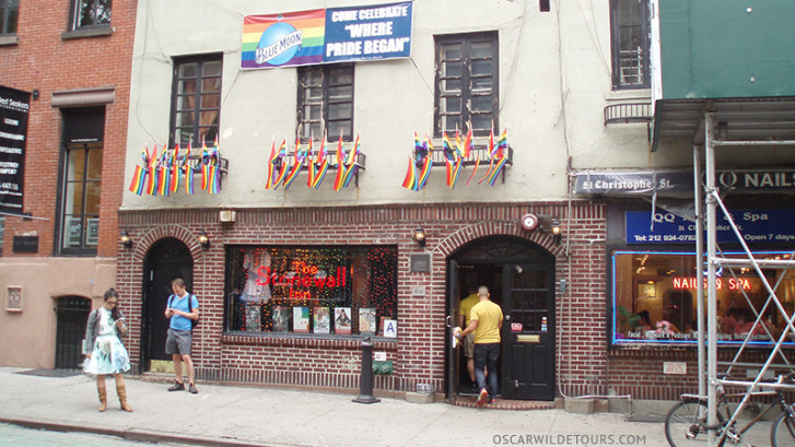 NYC gay history walking tours