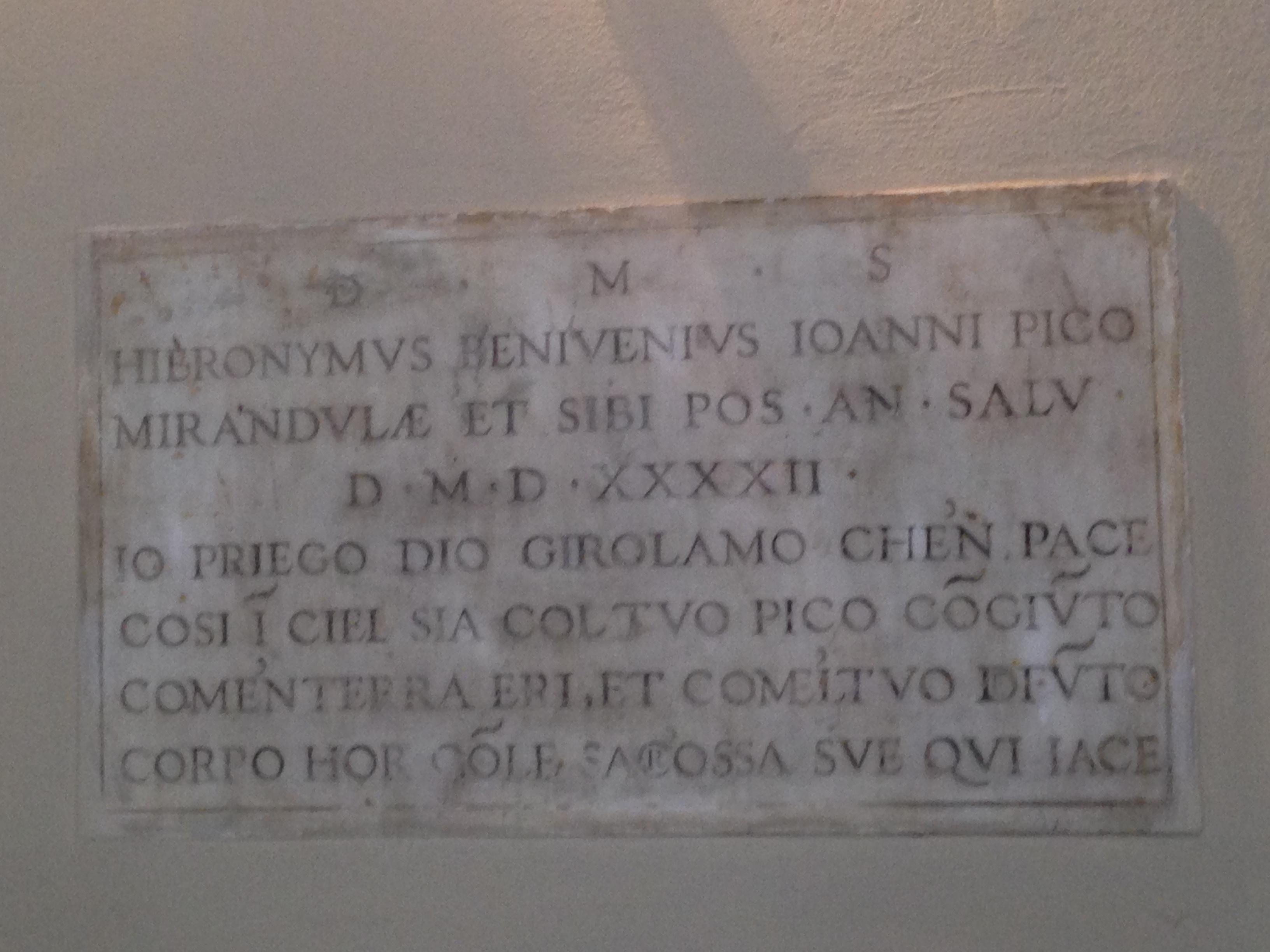 Firenze Pico della M:Beniveni 2